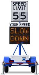 Radar-Speed Trailer