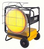 VAL6 Portable Diesel-Fired Radiant Heaters