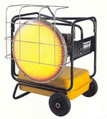 VAL6 KBE5S Portable Diesel-Fired Radiant Heaters