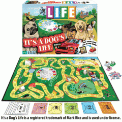The Game Of Life It`s A Dogs Life Edition
