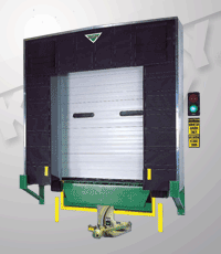 Rigid Frame Dock Shelter, TS