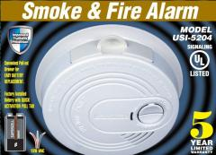 Smoke & Fire Alarm USI-5204-12CC