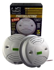 Wired-In 120 Volt Photoelectric Alarm