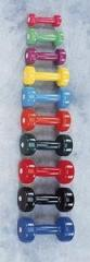 Vinyl Dumbbell Weight