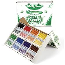 Nonwashable markers