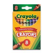 Large Crayola crayons