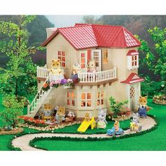 Calico Critters Town House with Light
