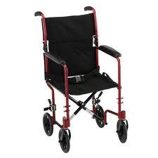 Nova Transport Chair w/ Flip-Back Desk Arms