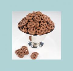 Milk Chocolate Covered Pretzel-Ettes Candy Bars