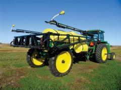 Large field trailer sprayers