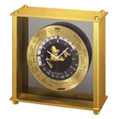 "Seiko World Time Desk Clock (8 1/2""X8"