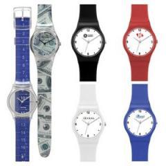 Watch Creations Unisex Plastic Strap Watch