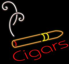 Cigar With Logo Neon Sign