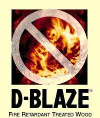 Wood, D-BLAZE®, FRT