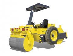 BW 5 AS. BOMAG Steel Wheel Roller.