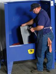 Water Recycling Rinse Booths
