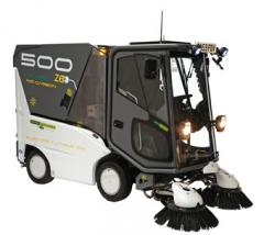 500ZE Lithium Ion powered suction sweeper