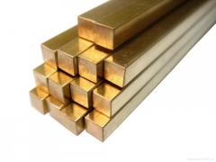 Copper Tungsten (CUW-10) Square Bars