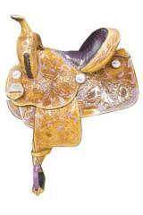 Full Desert Flower Saddle