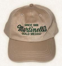 Hat – Khaki with Dark Green Lettering