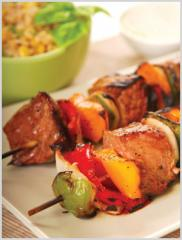 Freshly grilled Shish Kabob