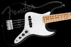 Fender Standard Jazz Bass Black Finish Maple