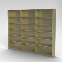 Rolled Front Shelving