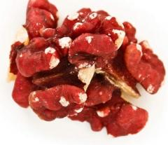 Red Walnut Halves & Pieces