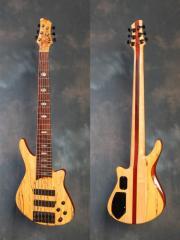 BM2761 Keith Roscoe SKB 5006 Six-String Bass