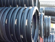 4-slot staggered heavy-duty corrugated pipe