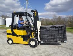 Yale® Pneumatic I.C.E. Lift Trucks