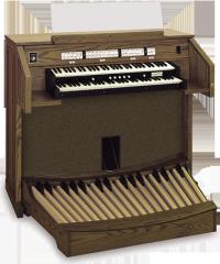 Allen Chapel CF-2a Organ