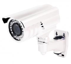 Weatherproof High Resolution IR Zoom Camera