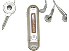MP3 Player A150 w/128MB-Champagne Gold color