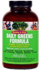 Healthy & Slim Daily Greens 10oz Powder