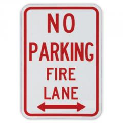 No Parking Fire Lane Traffic Sign R8-31