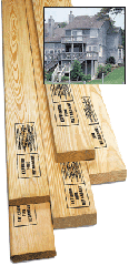 Fire Retardant, Wood Products,  Exterior