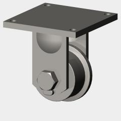 Flanged Wheel Casters