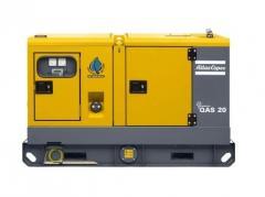2012 Atlas Copco QAS 20 Generator