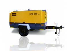 2012 Atlas Copco XAS 375 JD6 Compressor