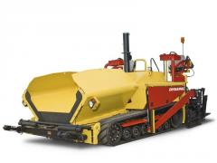 Dynapac F1000T is a rubber track paver