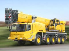 All Terrain Telescopic Crane GMK5135