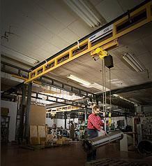 Workstation Bridge Cranes Freestanding