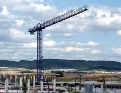 500 Series Linden Comansa flat top tower cranes