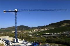 1100 Series of Linden Comansa flat top tower cranes