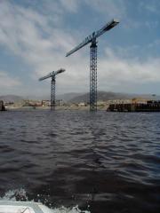 2100 Series Linden Comansa flat top tower cranes