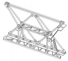 The 3000 Series Linden Comansa flat top tower cranes