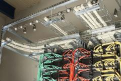Wire Mesh Cable Trays and CombiRack System
