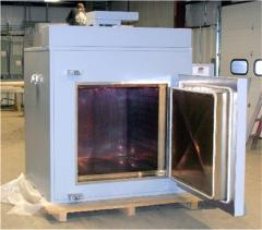 High Temperature Globar Heated Atmosphere Box