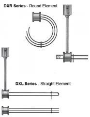 DXLC/DXRC - Bottom Mount Immersion Heater (Copper